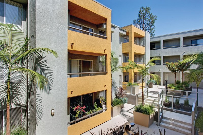 The Crescent Apartments, West Hollywood, CA