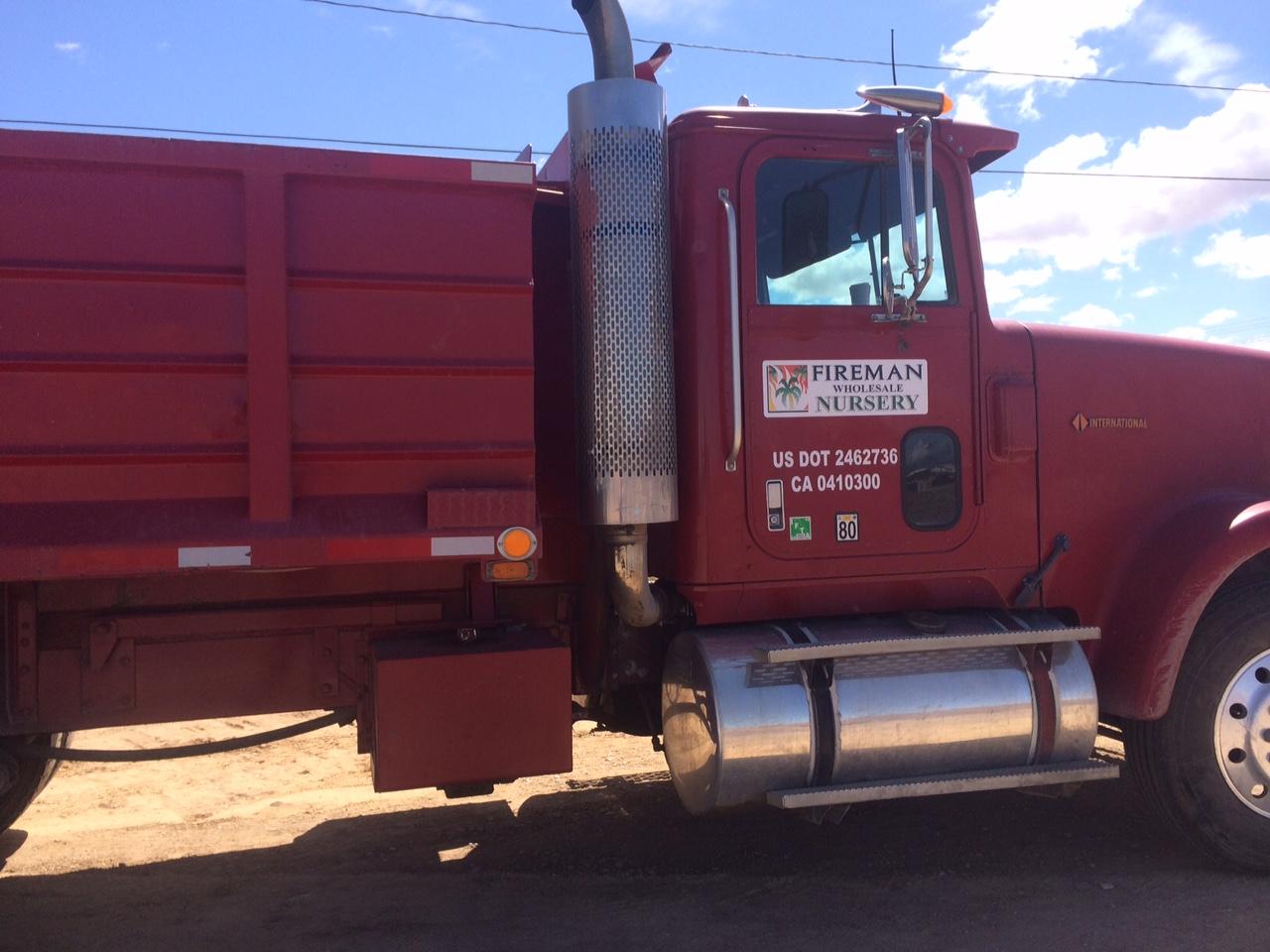 Fireman Nursery Red truck, nice!