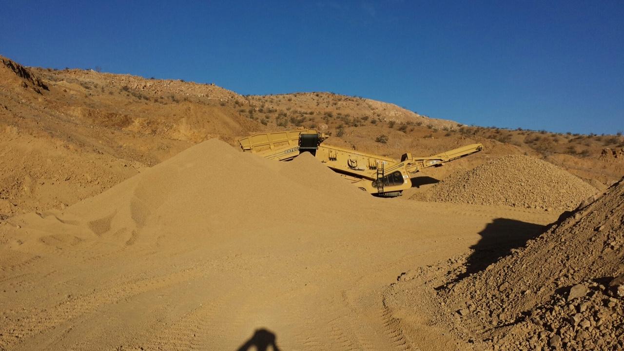 Rock Quarry Sand