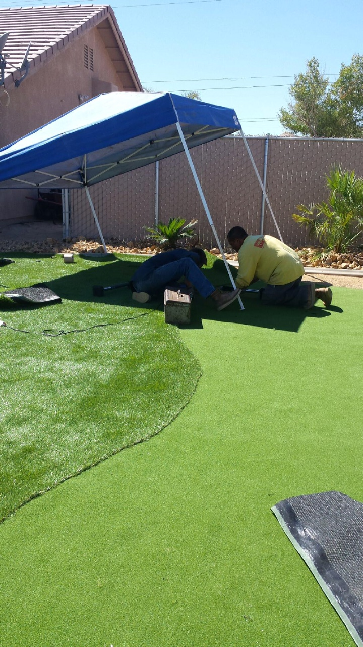 Turf - the guy doing the install